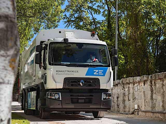 Renault Trucks ZE électrique