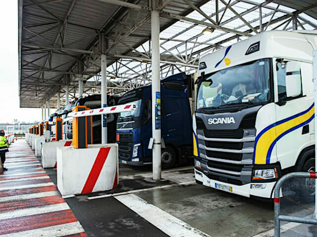Eurotunnel camions
