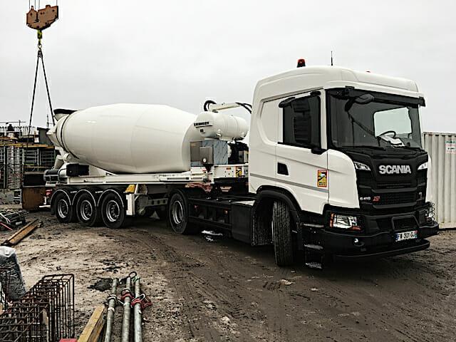 Scania malaxeur