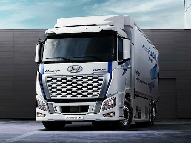 Hyundai Xcient hydrogène