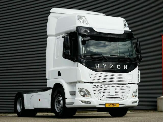 Hyzon truck hydrogene