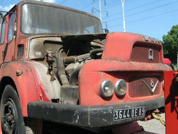 Berliet camion