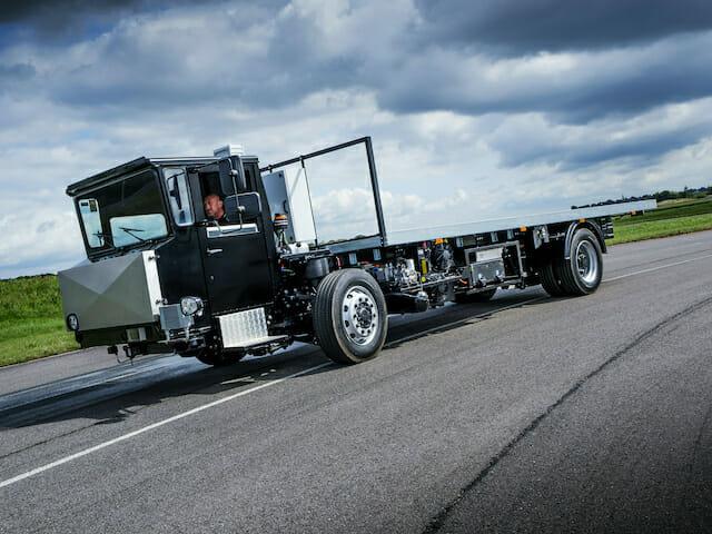 Volta Trucks camion